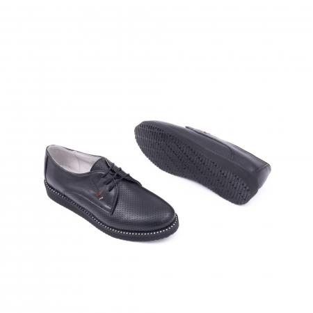 Pantofi casual dama 171610 negru3
