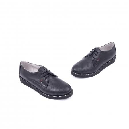 Pantofi casual dama 171610 negru1
