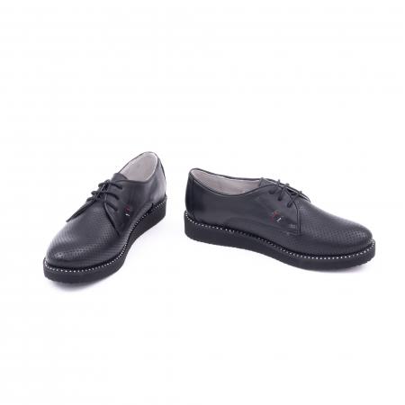 Pantofi casual dama 171610 negru4