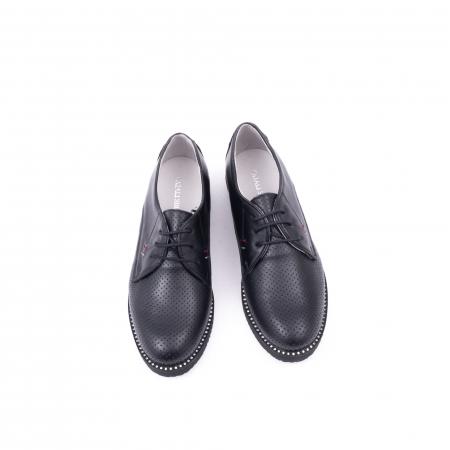 Pantofi casual dama 171610 negru5