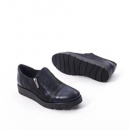 Pantofi casual dama din piele naturala, Catali 182634,bleumarin3