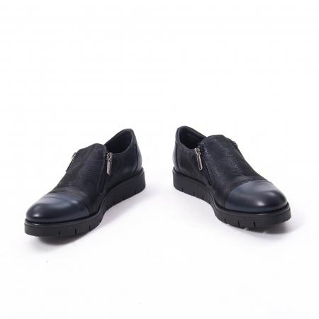 Pantofi casual dama din piele naturala, Catali 182634,bleumarin6