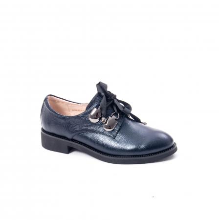 Pantofi casual dama din piele naturala, bleumarin, Epica jixs320- 42-N0