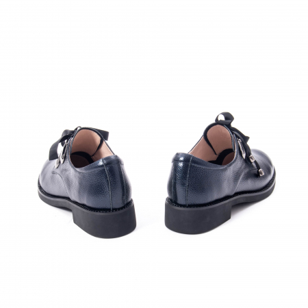 Pantofi casual dama din piele naturala, bleumarin, Epica jixs320- 42-N6