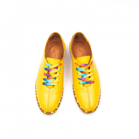 Pantofi dama casual din piele naturala, E2H19Y2902 08-N5