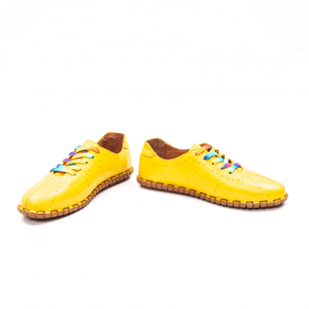 Pantofi dama casual din piele naturala, E2H19Y2902 08-N4