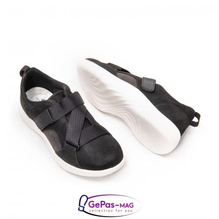 Pantofi casual dama din material textil Lulu Go CL2612