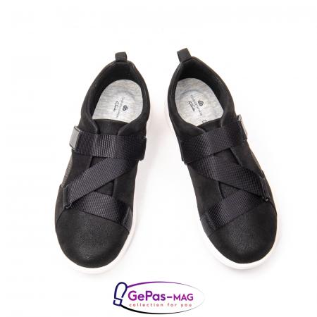 Pantofi casual dama din material textil Lulu Go CL2613