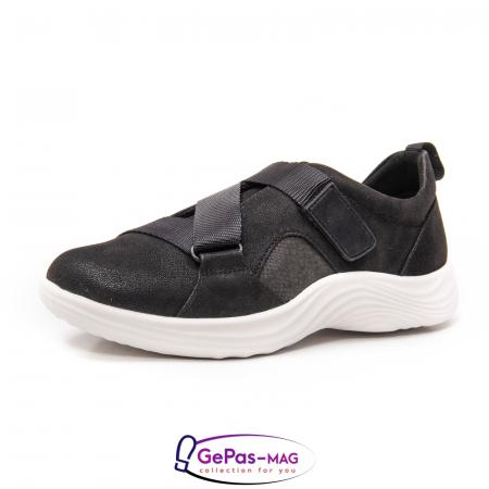 Pantofi casual dama din material textil Lulu Go CL2610