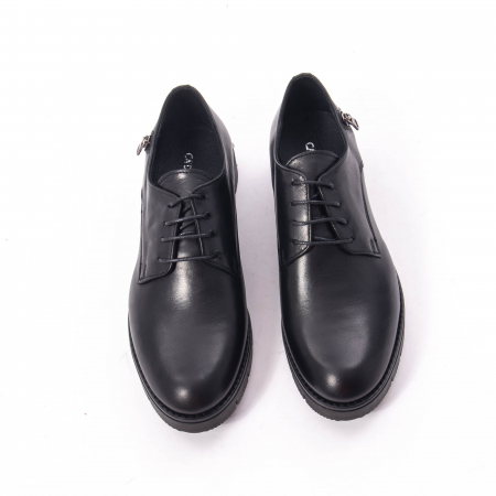 Pantofi casual dama, piele naturala Catali 162602 negru5