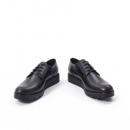 Pantofi casual dama, piele naturala Catali 162602 negru4