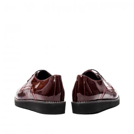 Pantofi casual dama, piele naturala, 172614 B6