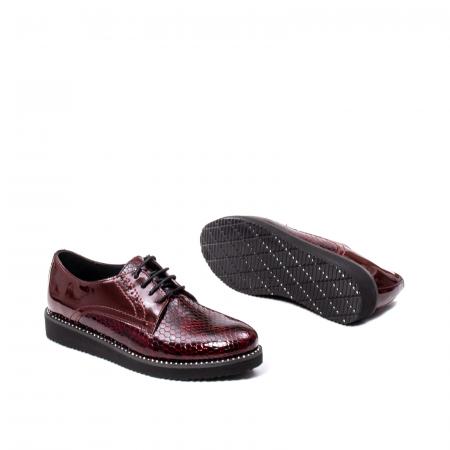 Pantofi casual dama, piele naturala, 172614 B3