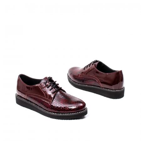 Pantofi casual dama, piele naturala, 172614 B2