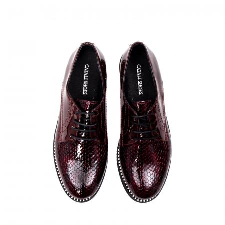 Pantofi casual dama, piele naturala, 172614 B5