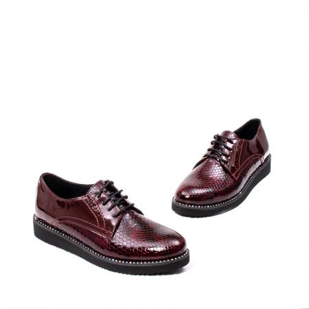 Pantofi casual dama, piele naturala, 172614 B1