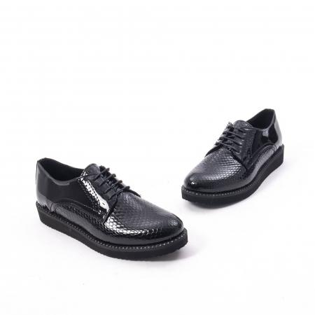 Pantofi casual dama, piele naturala, Catali 172614 N1
