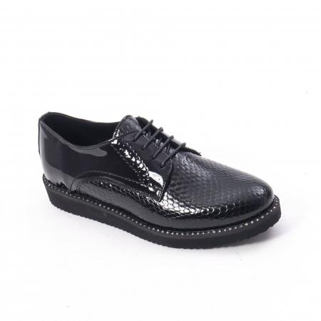 Pantofi casual dama, piele naturala, Catali 172614 N0