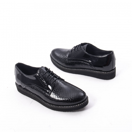 Pantofi casual dama, piele naturala, Catali 172614 N2