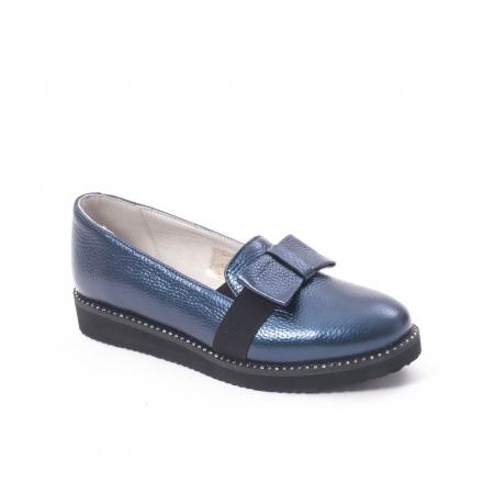 Pantofi casual dama ,piele naturala, Catali 172615 bleumarin0
