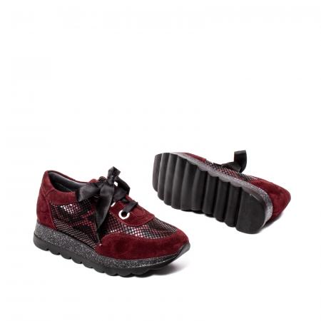 Pantofi casual dama, piele naturala, 202679SP/CRO [3]