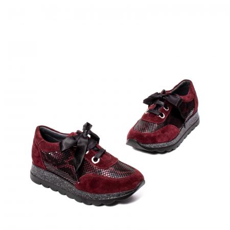 Pantofi casual dama, piele naturala, 202679SP/CRO [1]