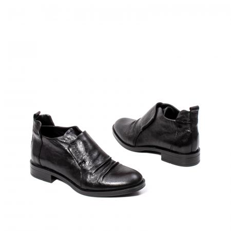 Pantofi casual dama, piele naturala, 202688 N2