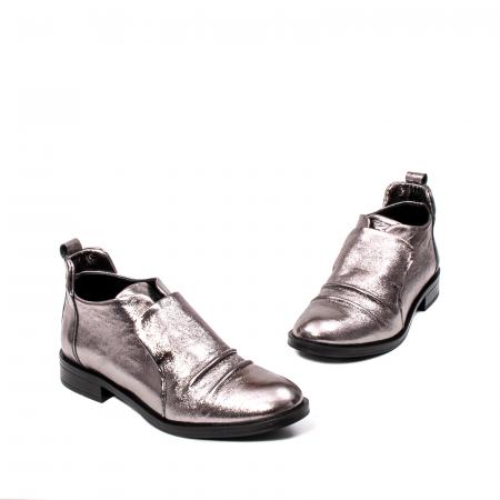 Pantofi casual dama, piele naturala, 202688 HOR1