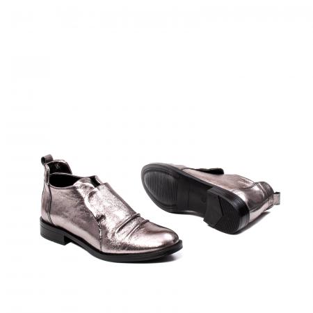 Pantofi casual dama, piele naturala, 202688 HOR3