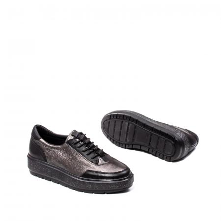 Pantofi casual dama, piele naturala, 2026893