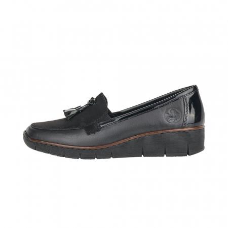 Pantofi casual dama, piele naturala, 53771-001