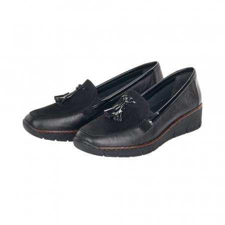 Pantofi casual dama, piele naturala, 53771-002