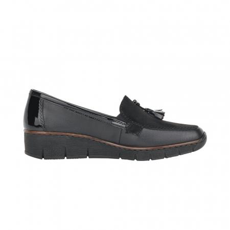 Pantofi casual dama, piele naturala, 53771-005