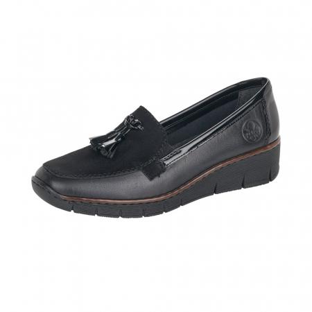 Pantofi casual dama, piele naturala, 53771-000