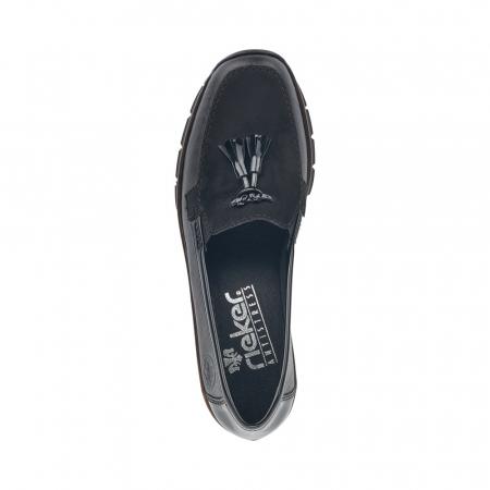 Pantofi casual dama, piele naturala, 53771-003
