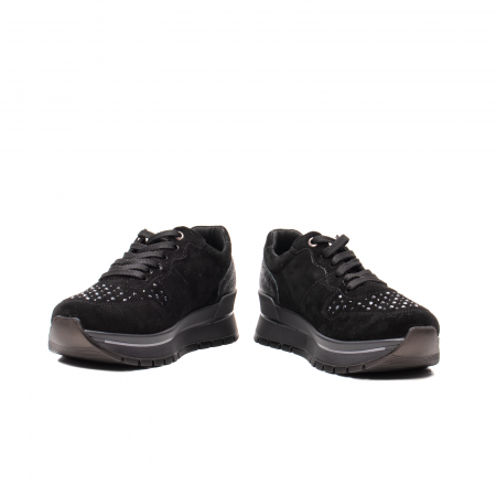 Pantofi dama casual, piele naturala intoarsa, IC6083604