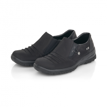 Pantofi casual dama, piele naturala nubuc, L7154-006