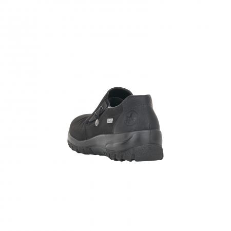 Pantofi casual dama, piele naturala nubuc, L7154-002