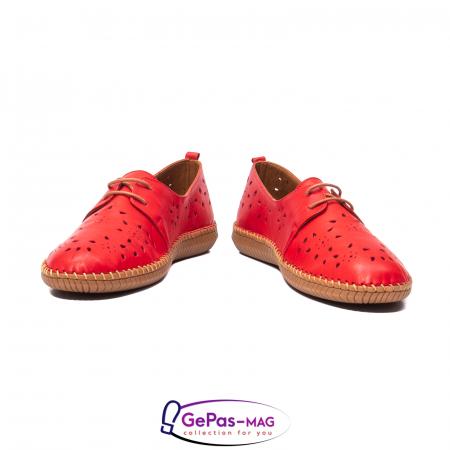 Pantofi casual dama, piele naturala, YX5235 R4