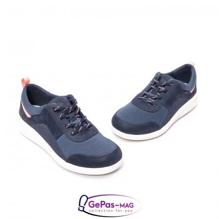 Pantofi casual dama din material textil Sillian Kae CL261519441
