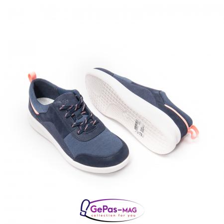 Pantofi casual dama din material textil Sillian Kae CL261519442