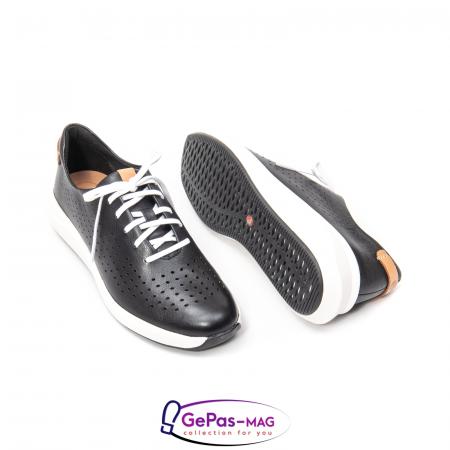 Pantofi casual dama, piele naturala Un Rio Tie CL26142