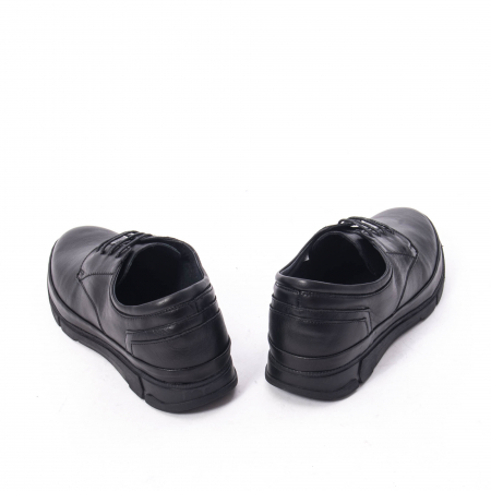 Pantofi casual de barbat din piele naturala, Catali 192550 negru1