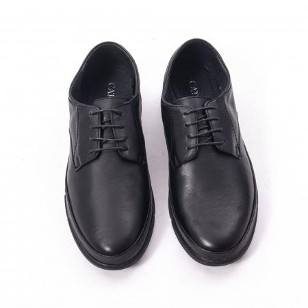 Pantofi casual de barbat din piele naturala, Catali 192550 negru5
