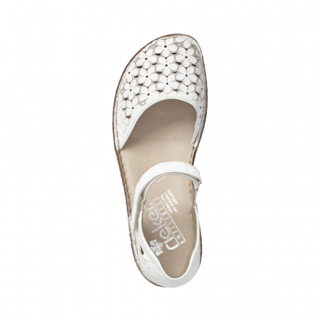 Pantofi dama, casual din piele naturala, RIK M0965-801
