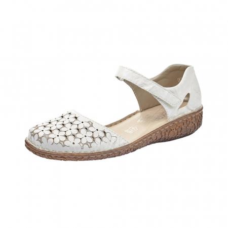 Pantofi dama, casual din piele naturala, RIK M0965-800