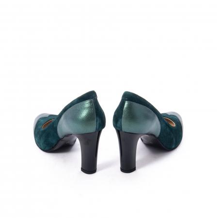 Pantofi eleganti dama, piele naturala, Nike Invest, 265 VS1 verde6