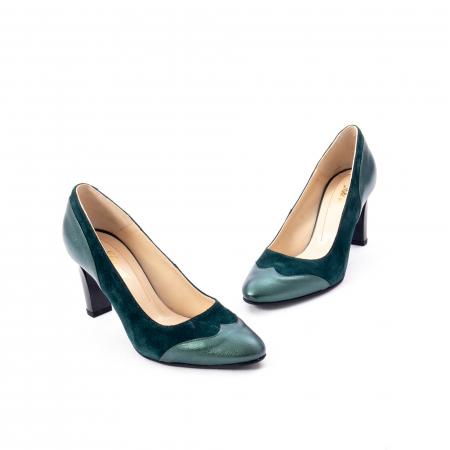 Pantofi eleganti dama, piele naturala, Nike Invest, 265 VS1 verde1