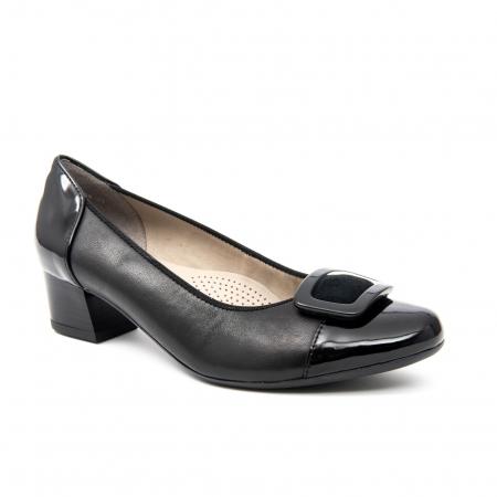 Pantofi dama eleganti piele naturala Ara 3585, Negru0