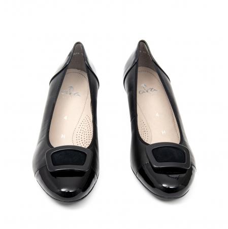 Pantofi dama eleganti piele naturala Ara 3585, Negru5